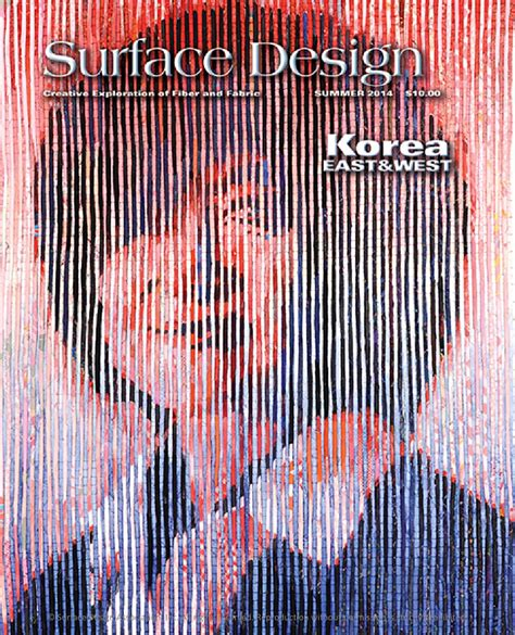 surface design journal back issues surface design journal summer 2014 sle issue by