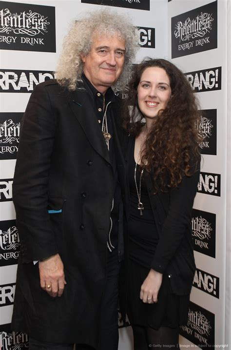 brian may family little queenies brian may and emily may attend the