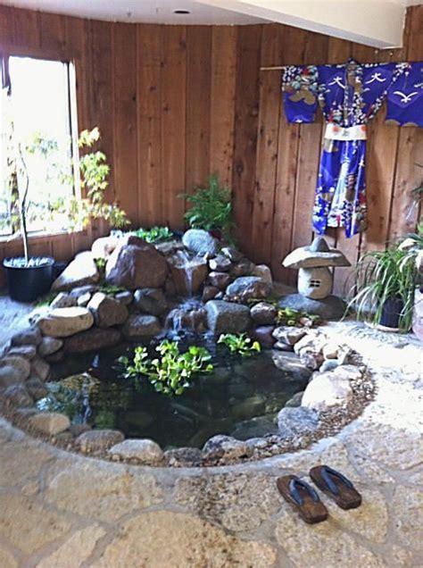 indoor koi pond images  pinterest ponds pond
