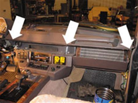 range rover blower motor resistor location removing the dash top for connector access on range rover classic