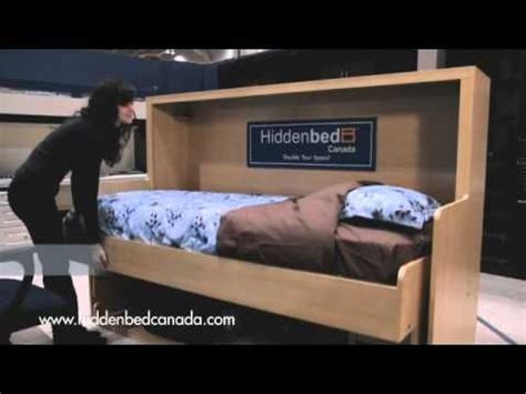 Loft Bed With Desk Canada by Hiddenbed Canada S Splendid Single And Decker