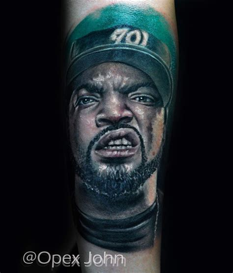 ice cube tattoo jesus 2pac tattoos and more from portrait