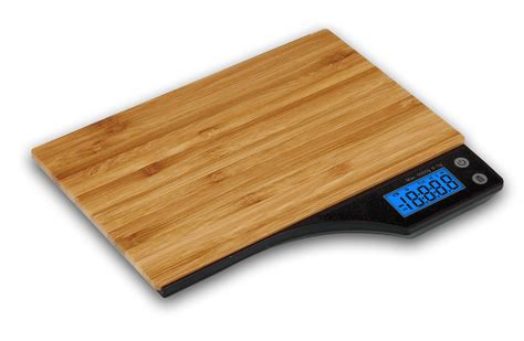 Bamboo Kitchen Scale by Kabalo Wooden Bamboo Kitchen Household Food Cooking