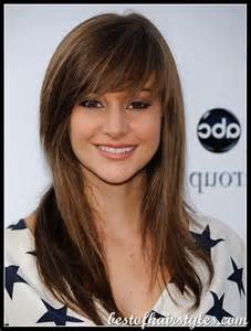 bangs hair long straight hair bangs celebrity hairstyles photos