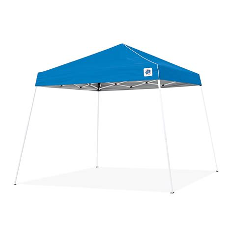 Instant Shade Canopy E Z Up Instant Shelter Pop Up Canopy 12 X 12 Ft Blue