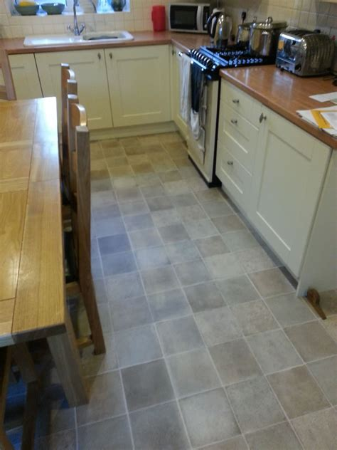 Vinyl Flooring For Kitchens Tile Effect Kitchen Vinyl Out And About Carpets