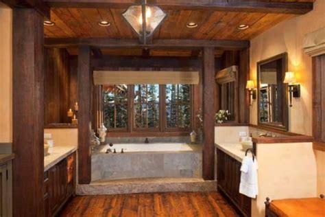 unique master bathrooms 10 unique timber home bathrooms