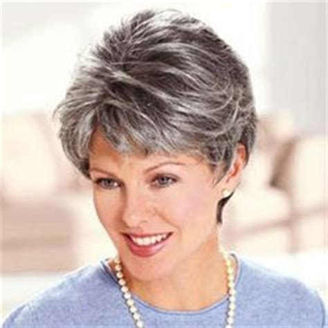 salt pepper hair styles hair on pinterest gray hair silver highlights and short