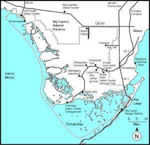 florida everglades map map of florida showing everglades images