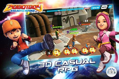 boboiboy galactic heroes rpg unlocked android apk mods