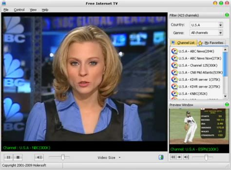 tv live freeware tv players