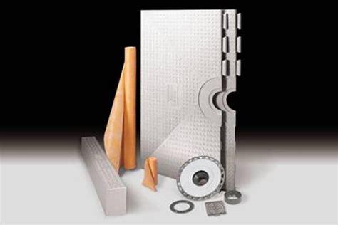 Schluter Kerdi Shower Kit by Kerdi Shower Kits Shower Systems Westside Tile And