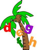 Chicka Chicka Boom Boom Palm Tree Template by Polka Dot August 2011
