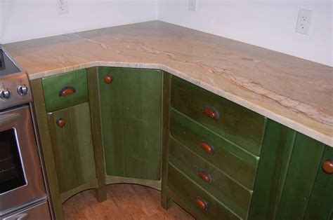 Distressed Green Kitchen Cabinets Distressed Green Kitchen Island Quicua