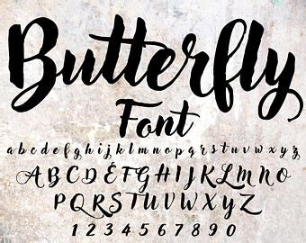 Wedding Fonts For Photoshop by Cursive Font Etsy