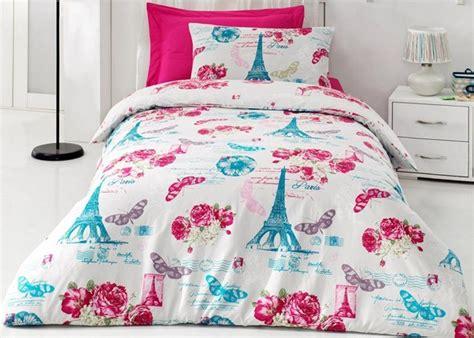 eiffel tower bedding twin 100 cotton 3pcs paris eiffel tower twin single duvet cover