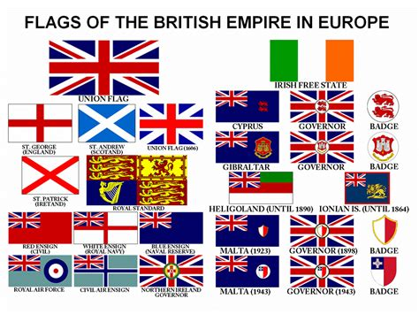 flags of the world rules flags of empire ensigns of the home nations and europe