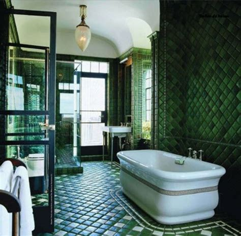 green tile bathroom ideas 25 best ideas about dark green bathrooms on pinterest