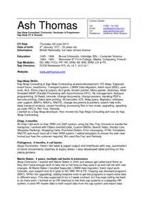 cover letter for sap basis consultant sap administrator cover letter sle non profit resume