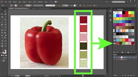 get color from image how to create custom color swatches in adobe illustrator