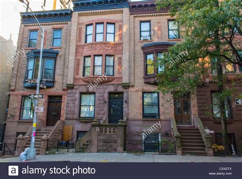 buy house in new york city new york city ny usa street scenes historic townhouses row stock photo royalty