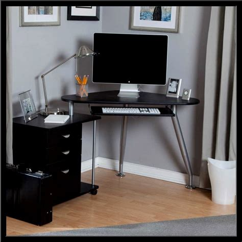 black corner office desk corner office desk black modern office cubicles ideal