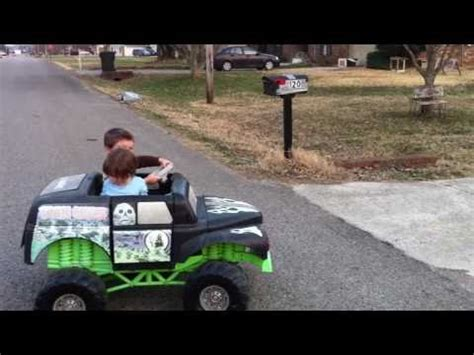power wheels grave digger monster truck custom ride ons 12v power wheels grave digger monster