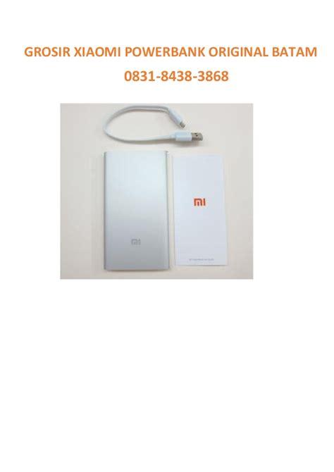 Grosir Power Bank Xiaomi 0831 8438 3868 axis xiaomi powerbank original grosir batam