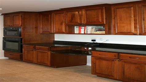 kitchen cabinets desk, Kitchen Cabinet Maple Stains Honey