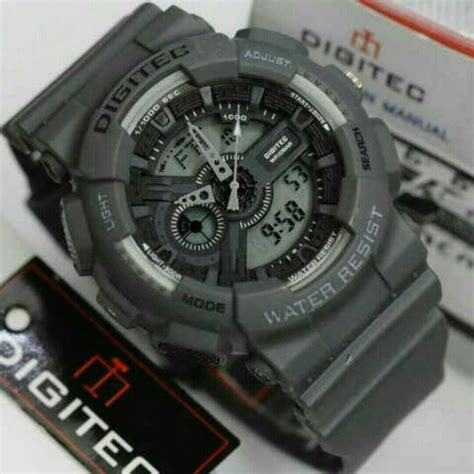 Digitec 3025 Rubber Original Water Resist Black Jam Tngan Pria jual jam tangan digitec dg 2020t original water resistant