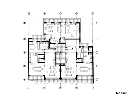 floor plan of residential house residential building in vase stajića street kuzmanov and