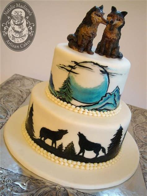 Wolf Cake Decorations by Best 25 Wolf Cake Ideas On