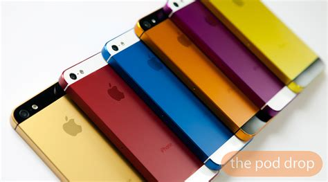 iphone 5s color options anostyle anodized color options for iphone now