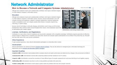 computer systems administrator 15 best jobs in 2013 pictures
