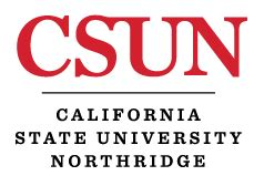 California State Northridge Mba Tuition csun catalog