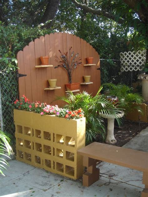 Cinder Block Wall Planter by Cinder Block Planter