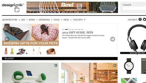 design milk similar sites online magazine website layouts for design inspiration