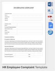 employee complaint form template 29 hr complaint forms free sle exle format