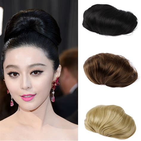 hair pieces for women 1pc hair bun synthetic bun hair chignon hair piece women