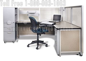 use portable workstation desks to replace cubicles in your