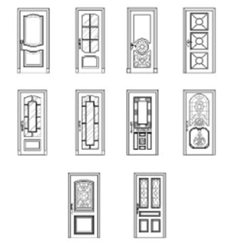 porte d ingresso dwg doors and windows plan elevation dwg block max cad