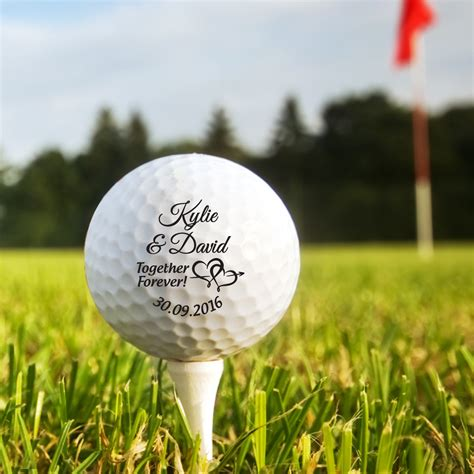 personalised golf balls personalized custom printed