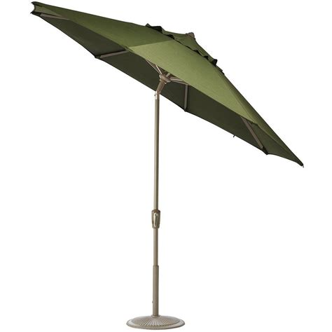 6 Foot Patio Umbrellas Home Decorators Collection 6 Ft Auto Tilt Patio Umbrella In Brannon Whisper Sunbrella With