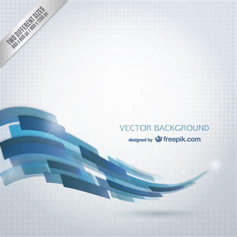 plantilla business letterhead with blue waves onda azul abstracta descargar vectores gratis