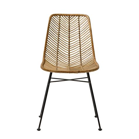 stuhl rattan bloomingville rattan chair living and co
