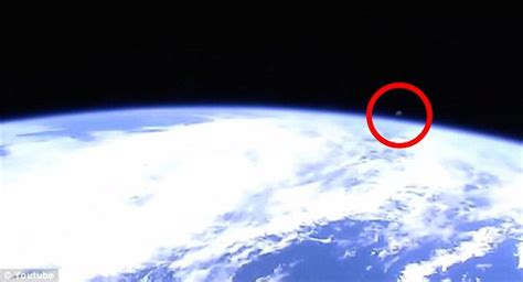 space live nasa nasa cuts live iss feed as ufo appears real footage