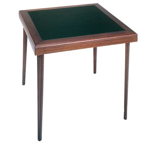 Square Card Table by Cosco 32 Quot X 32 Quot Square Wooden Folding Card Table W Vinyl