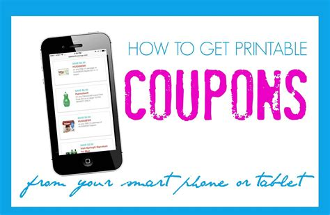 printable grocery coupons from phone how to print coupons from your phone or ipad