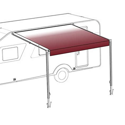 aleko awning reviews aleko 13x8 retractable rv or home patio canopy awning