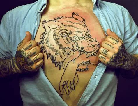 cool chest tattoos for guys 45 cool chest tattoos for inspirationseek